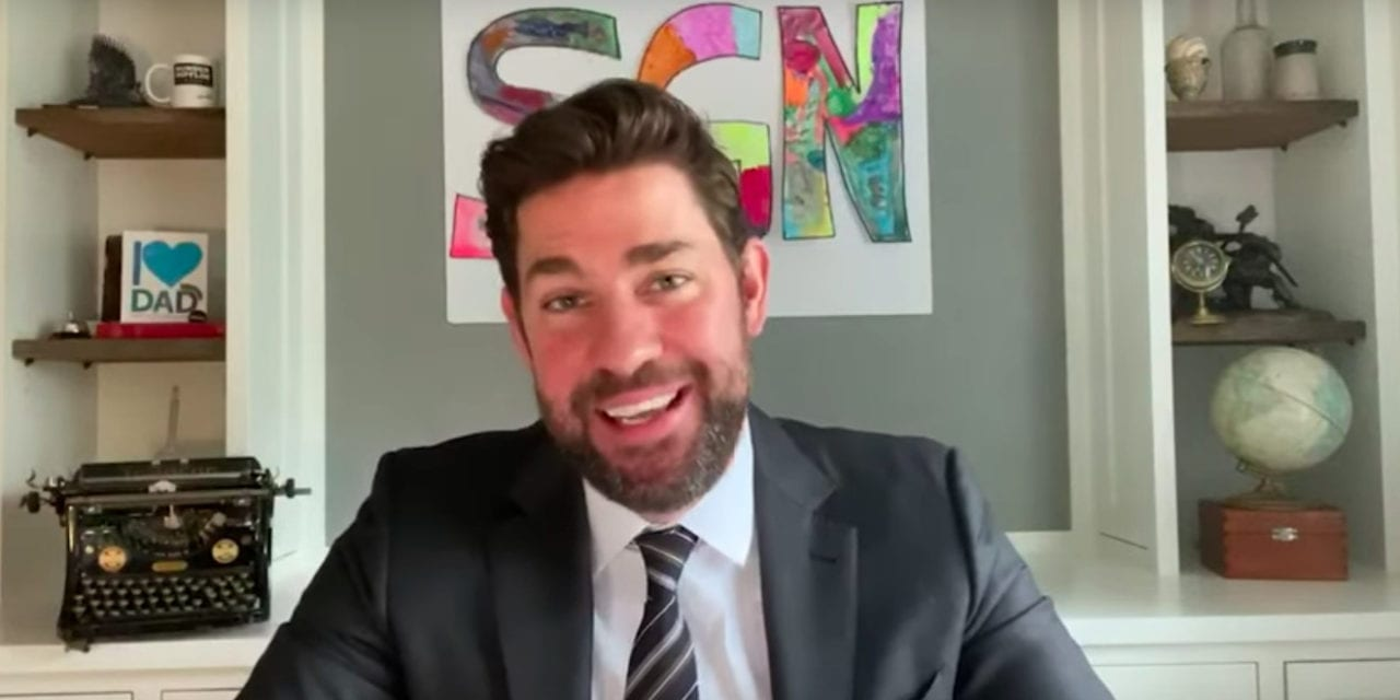 John Krasinski scores health workers free AT&T, lifetime Red Sox tix