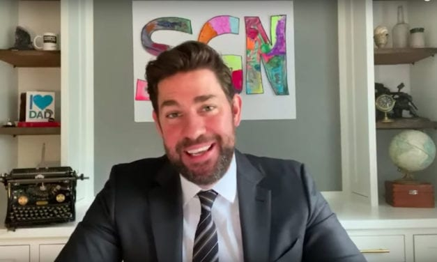 John Krasinski and the Red Sox Surprise Nurses with Baseball Tickets for Life
