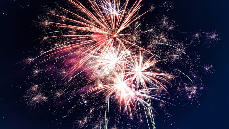 Fourth of July Firework Displays Permitted in Some M.A. Towns