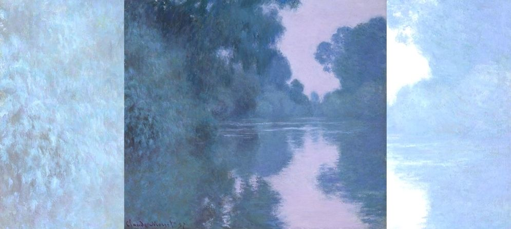 Claude Monet's Morning on the Seine, near Giverny