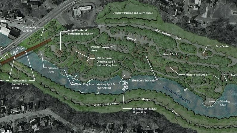 Plan for Mill City Park