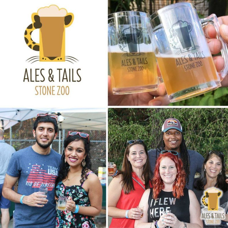 Ales and Tails event at Stone Zoo